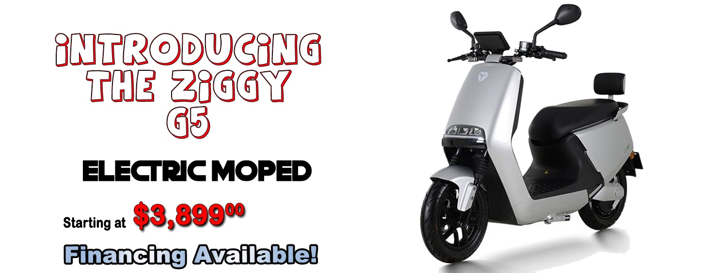 ZIGGY G5 ELECTRIC MOPED